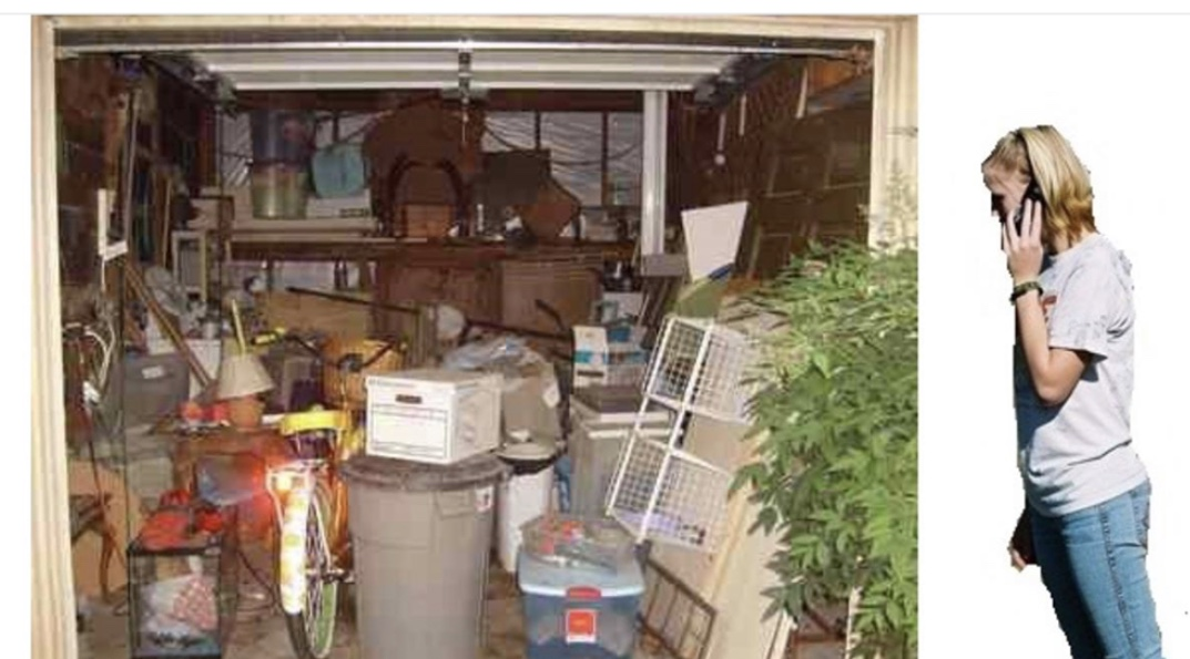dumpster rental for garage clean out