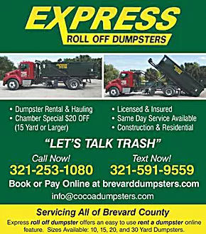 Express Dumpster Coupon