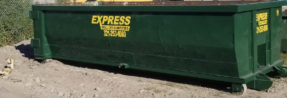 COMMERCIAL DUMPSTER - YARD CAN BREVARD COUNTY FL EXPRESS
