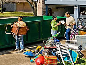 rubbish removal express roll off dumpsters Melbourne