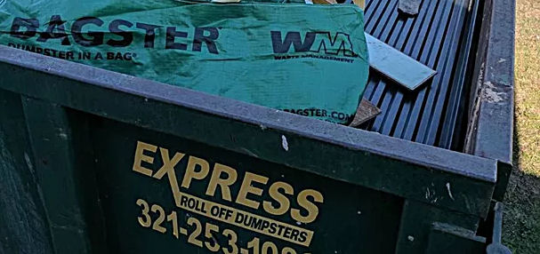 express roll off dumpster rental melbourne